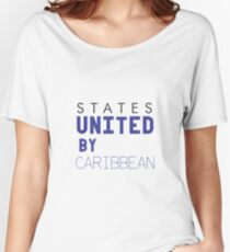States United by Caribbean Women's Relaxed Fit T-Shirt
