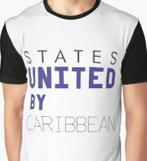 States United by Caribbean Graphic T-Shirt