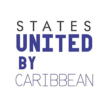 States United by Caribbean by alvarenga