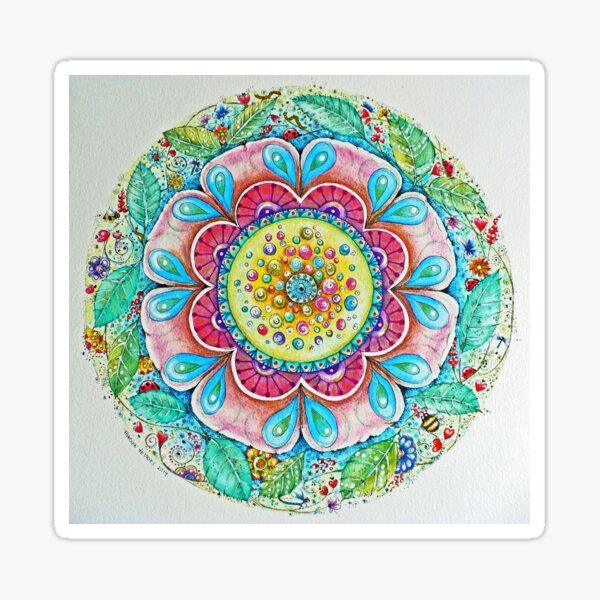 bloem / flower Sticker
