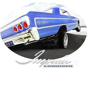 64 IMPALA LOWRIDER by MOTORVATESTUDIO