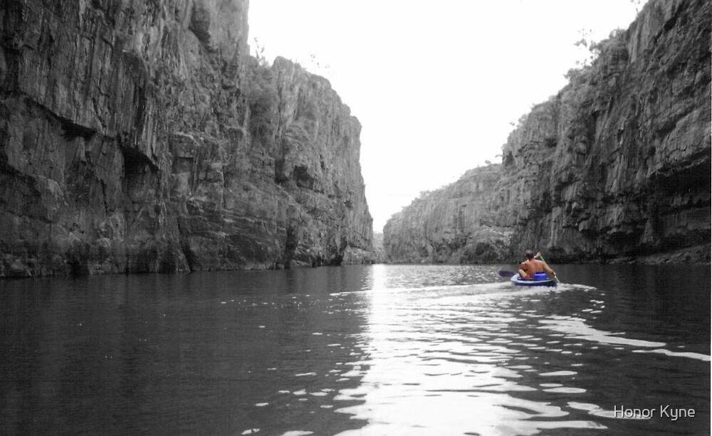 Canoeing Katherine Gorge, Northern Territory by Honor Kyne