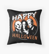 Happy Halloween! Villains of [BTVS] Throw Pillow
