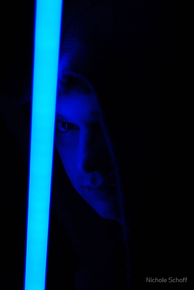 Jedi Mike by Nichole Schoff