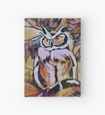 Pretty Pink Owl Camo Hardcover Journal