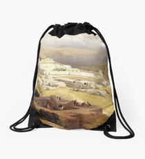 Nazareth Convent of Terra Sancta Drawstring Bag