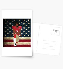 Colin Kaepernick American Flag Postcards