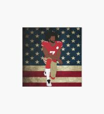 Colin Kaepernick American Flag Art Board