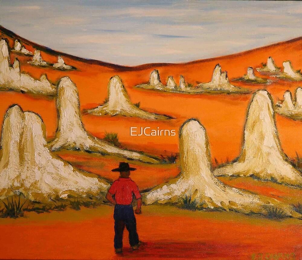 Australiana Pinnacles  EJCairns  Original Sold  by EJCairns