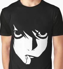 Death Note L Graphic T-Shirt