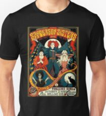 988243435 Sanderson Sisters Tour Poster T-Shirt Slim Fit T-Shirt