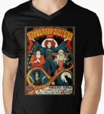Sanderson Sisters Tour Poster T-Shirt Men's V-Neck T-Shirt