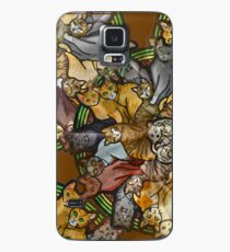 Cats forever - Furever Fall - Cat lover - Crazy Cat Print Case/Skin for Samsung Galaxy