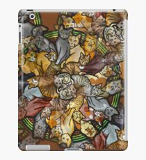 Cats forever - Furever Fall - Cat lover - Crazy Cat Print iPad Case/Skin