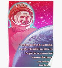 Yuri Gagarin Poster