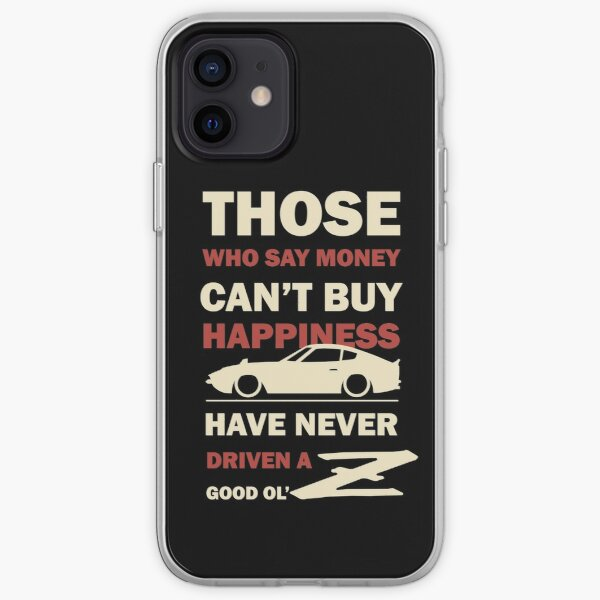 Happiness in a Datsun Z iPhone Soft Case