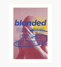 blonded Panorama Art Print