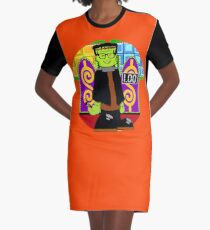 TV Game Show - TPIR (The Price Is...) Halloween Special Host Graphic T-Shirt Dress