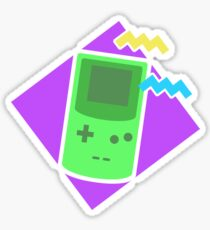 The Radical 90's - Gameboy Sticker