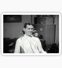 Jack Nicholson at the dentist publicity still from Little Shop of Horrors Sticker