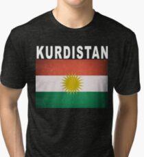 Kurdistan Independence Vote 2017 Tri-blend T-Shirt