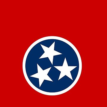 Classic Tennessee Flag by CrystalCoyote