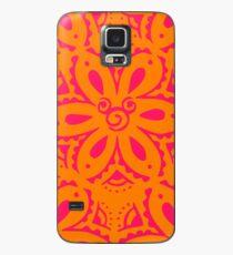 Orange Mouse Case/Skin for Samsung Galaxy
