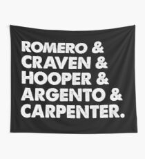 Masters of Horror Wall Tapestry