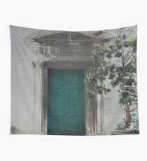 ROMAN DOORWAY Wall Tapestry