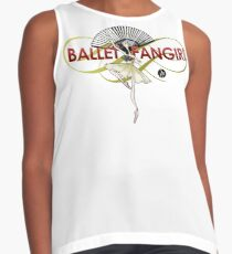 Ballet Fan Girl Sleeveless Top