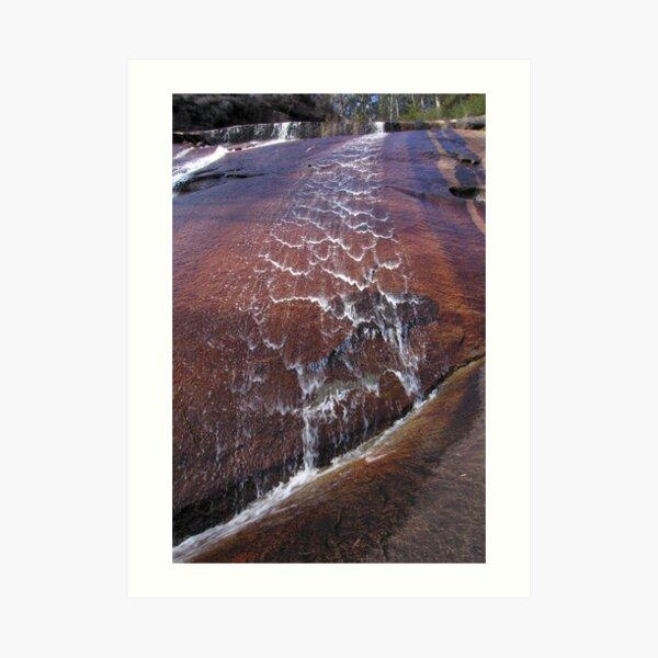 Wilhelmina Falls Art Print