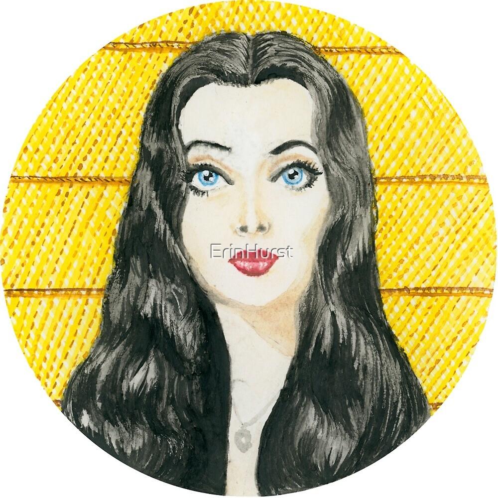 Morticia Addams 1964 (Colour) by ErinHurst