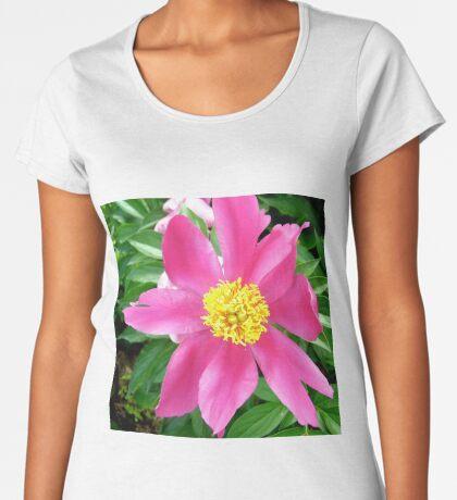 Pink flower Women's Premium T-Shirt