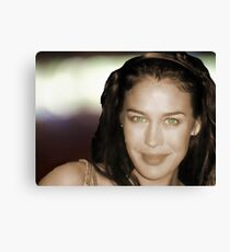 Megan Gale Canvas Print
