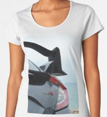 Honda Civic Type R wing Women's Premium T-Shirt