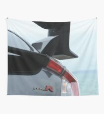 Honda Civic Type R wing Wall Tapestry