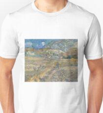 Landscape at Saint-Remy by Vincent van Gogh T-Shirt