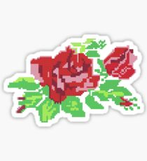 PIXEL ROSE (v.1) Sticker
