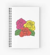 PIXEL ROSE (v.2) Spiral Notebook