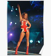 Geri Halliwell Union Jack Dress Poster