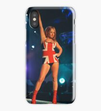Geri Halliwell Union Jack Dress iPhone Case/Skin