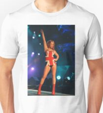 Geri Halliwell Union Jack Dress Unisex T-Shirt