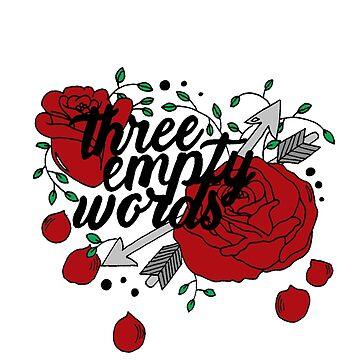 Three empty words by tbhfelisha