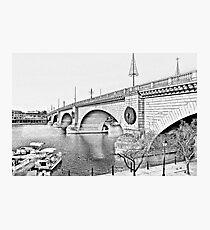 London Bridge, Lake Havasu City, Arizona  Photographic Print