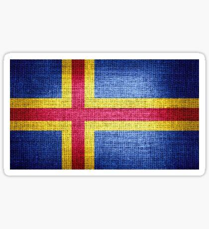 Aland Flag Sticker