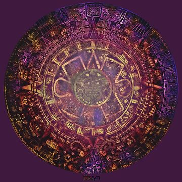 Aztec/Mayan Calendar by taszyn