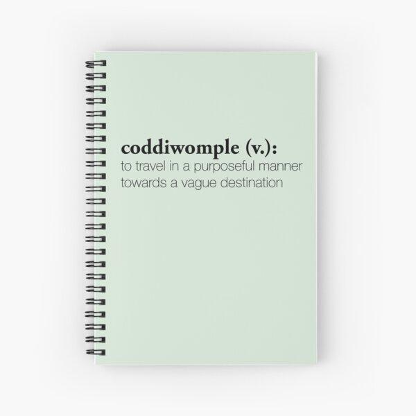 Coddiwomple Spiral Notebook