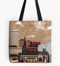 Brum Cityscape Tote Bag