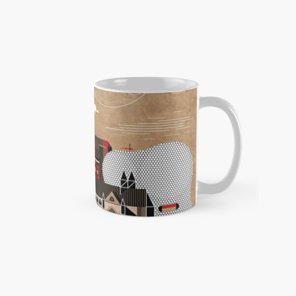 Brum Cityscape Classic Mug
