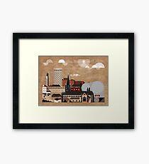 Brum Cityscape Framed Print